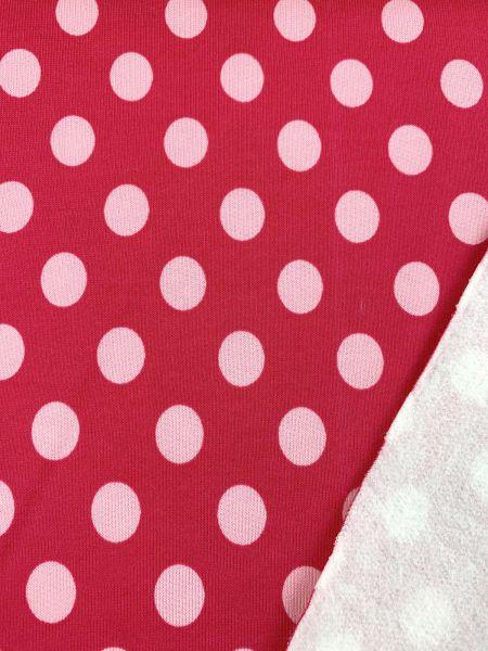 Sweat Dot Pink ÖKOTEX