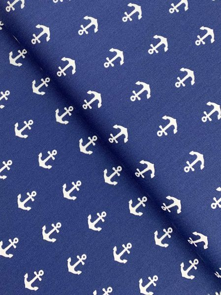 Baumwolle Design by Poppy Anker Gross NAVY