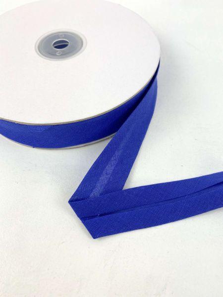 Schrägband Baumwolle METERWARE Royalblau