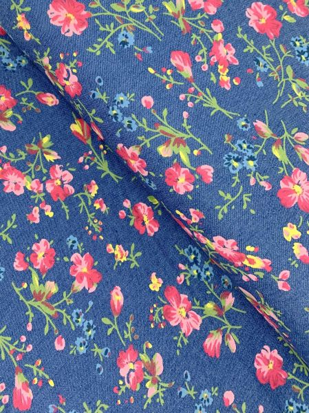 Jeans elastisch Floral