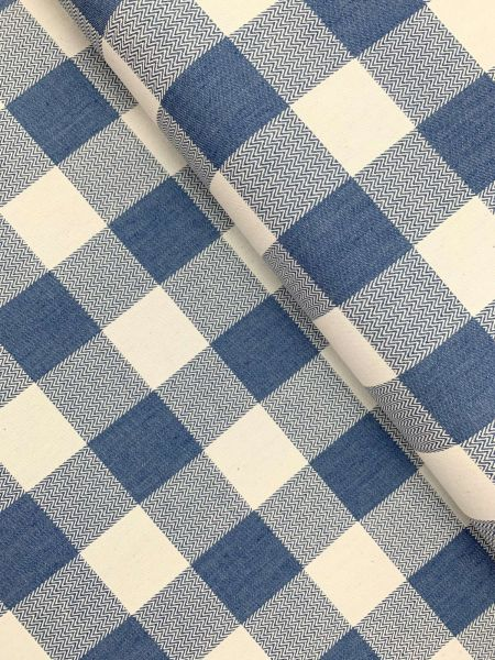 Karo Jeans 4cm Hellblau