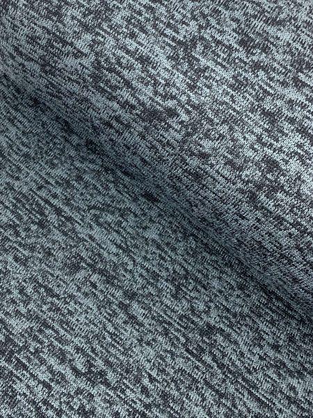 Kuschel-Strick Fleece melange Dunkelgrau