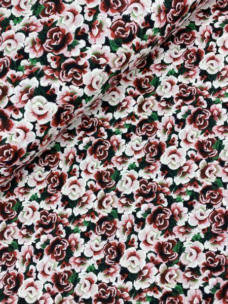 Baumwolljersey Ökotex Blumenjersey 1