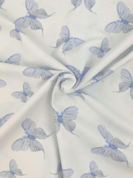 Bio-Jersey Butterfly Hellblau DIGITALDRUCK