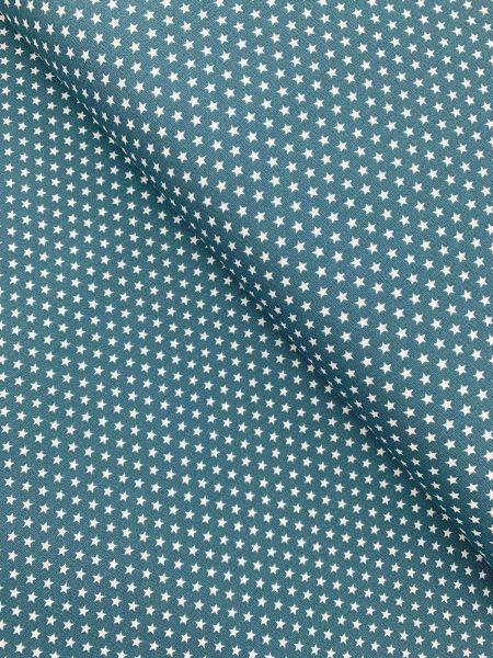 Baumwolle Design by Poppy Sterne Klein PETROL