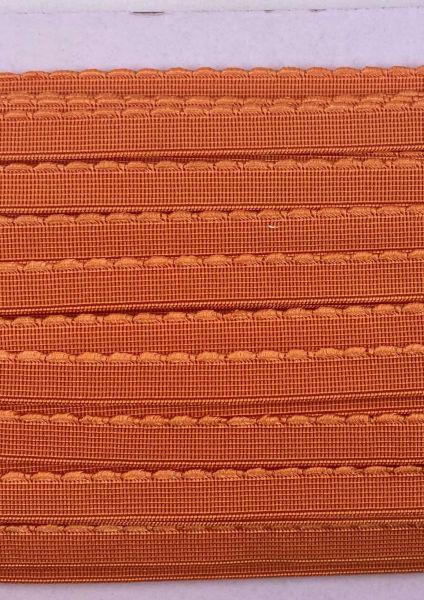 Gummiband 1cm Orange