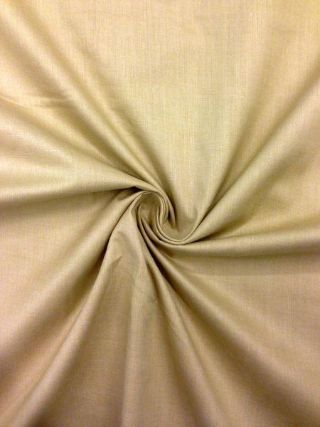 Poplin Baumwolle/Polyester uni Sand