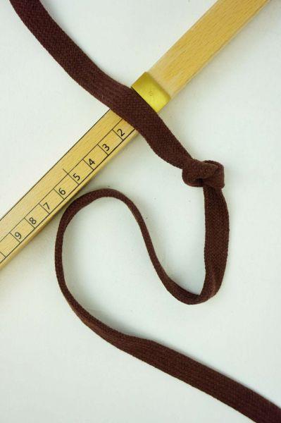 Hoodie-Flachkordel 15mm Braun