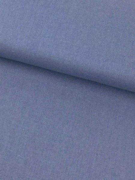 Viscose Leinen Jeansblau