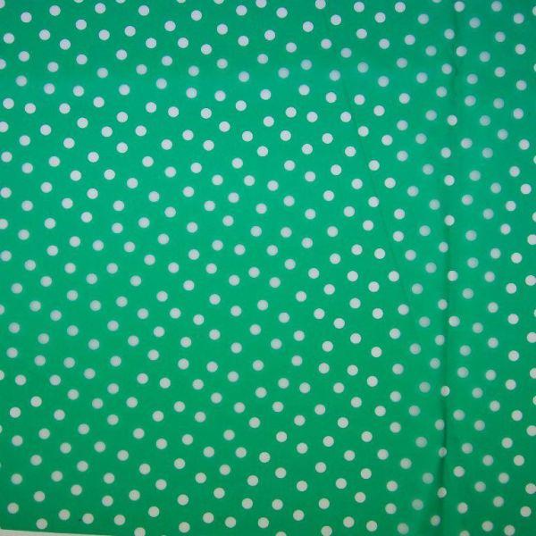 Regenjackenstoff Dünn Punkte Grün