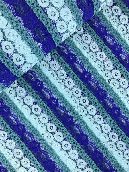 Hochwertige Spitze Mint-Blau