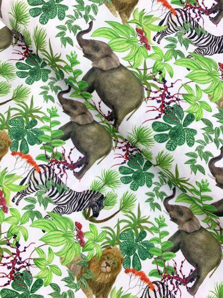 Baumwolle DIGITALDRUCK In the Jungle4