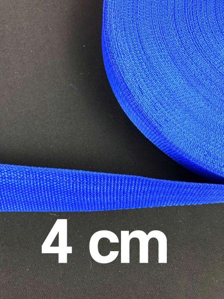 Gurtband 4 cm Breit Royal