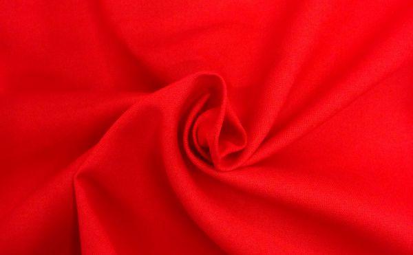 Reine Baumwolle Rot