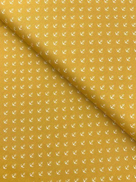 Baumwolle Design by Poppy Anker Klein SENFGELB