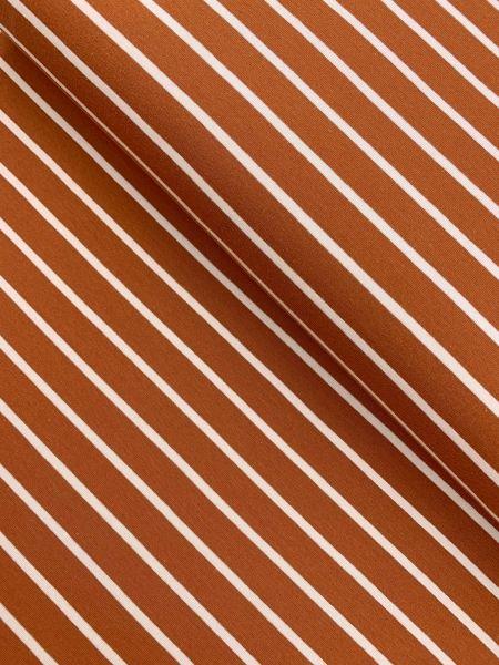 SommerSweat Streifen Rost/Rosa ÖKOTEX