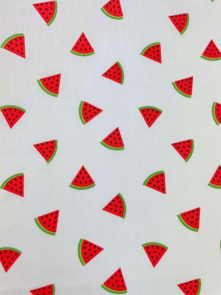 Baumwolle Ökotex Wassermelonen