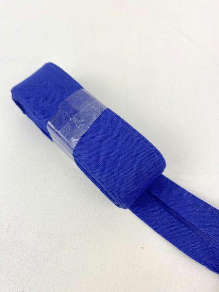 Schrägband Baumwolle Royalblau