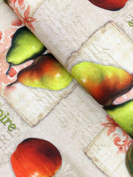 Deko Äpfel und Birnen