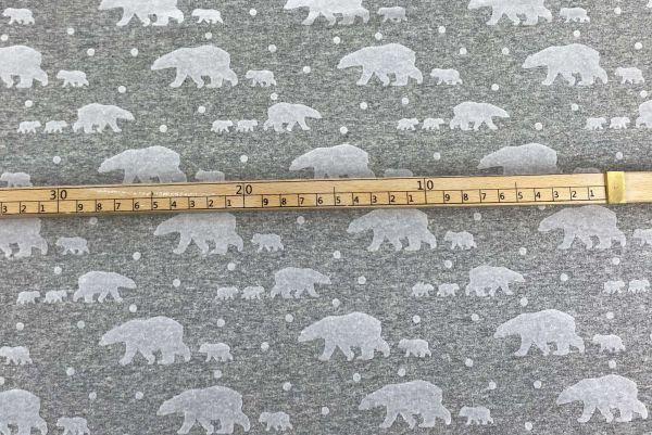 Baumwolle Röschen&Punkte Weiß