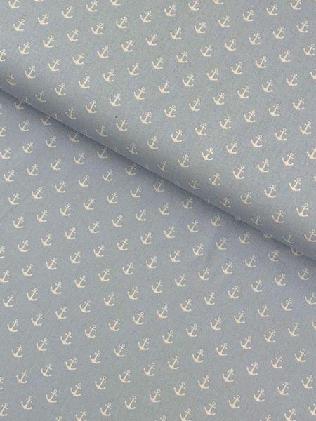 Baumwolle Design by Poppy Anker Klein HELLBLAU