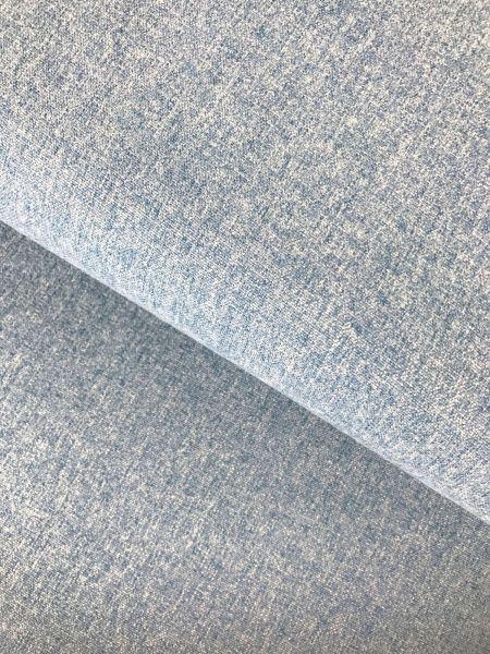 Bezugsstoff Malaga Blau Melange