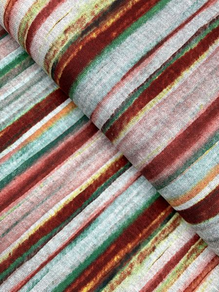Viscose/Polyester Aquarell Streifen1