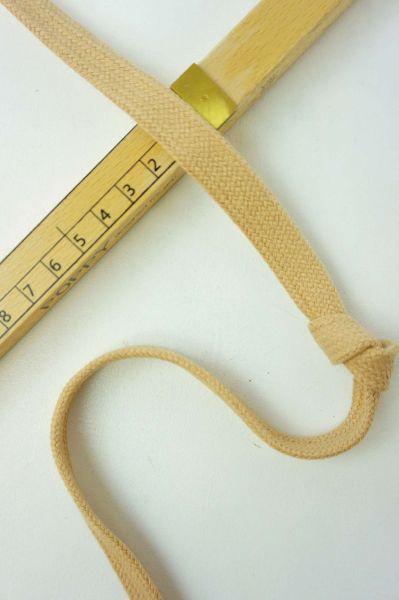 Hoodie-Flachkordel 15mm Natur
