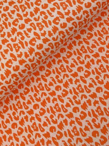 Jacquard-Strick LEO Orange NEU