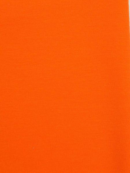 Strickbündchen Orange11