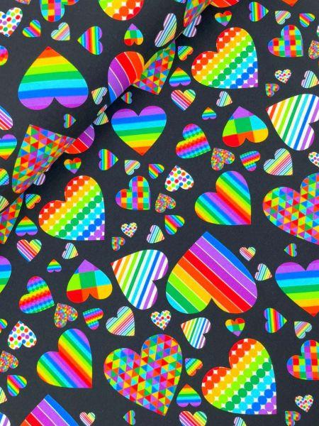 BW-Jersey DIGITALDRUCK Heart of Colour