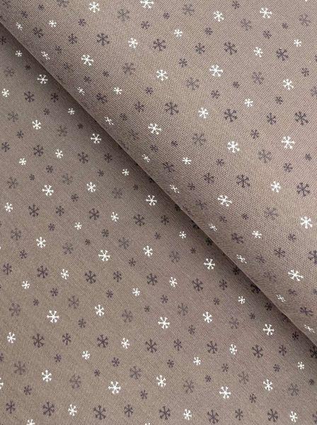 Kunstfell Schnee-Leopard