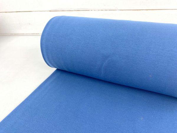 Strickbündchen Organic Cotton Jeansblau