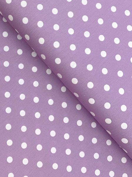 Baumwolle Design by Poppy Punkte Gross FLIEDER