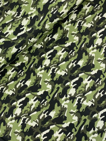Baumwolle Ökotex Uniform Grün