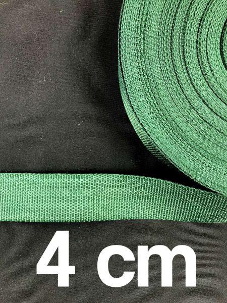 Gurtband 4 cm Breit Dunkelgrün