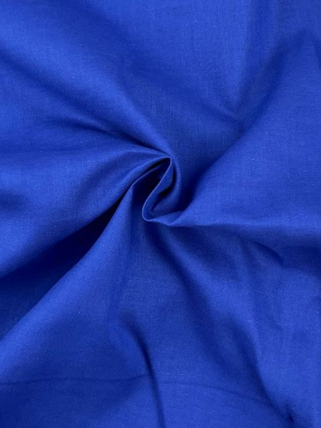 Baumwoll-Webware 260cm breit Royalblau