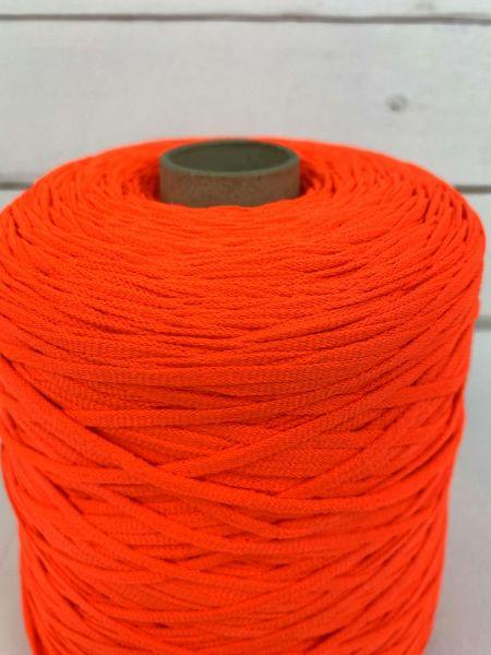 5 Meter Maskengummi 4 mm NEON Orange