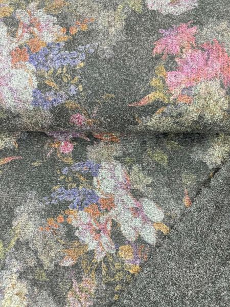 Mantelstoff Floral Blume