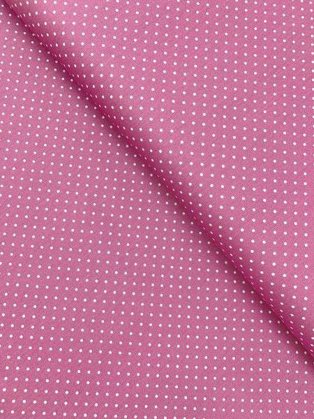 Baumwolle Design by Poppy Punkte Klein BUBBLEGUM
