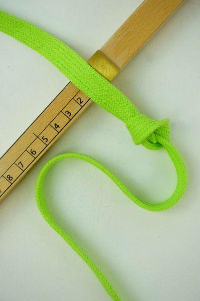 Hoodie-Flachkordel 15mm Hellgrün