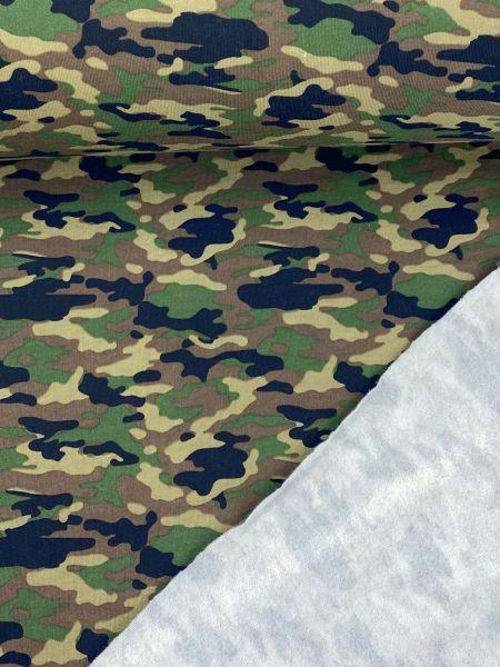 Sommersweat ÖKOTEX Camouflage Original