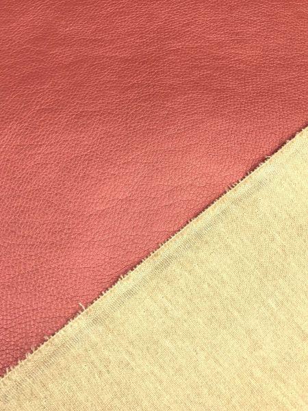 Kunstleder BRILLIANT Soft Kupfer-Rot
