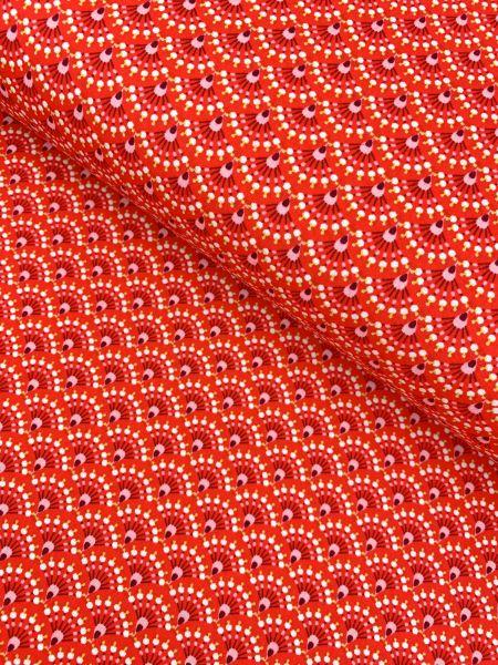 Baumwolle Ökotex Dantos Rot
