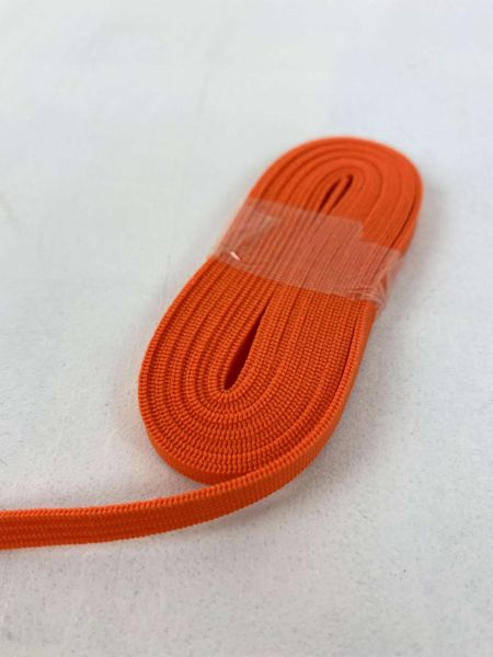 2 Meter Maskengummi 5mm Orange