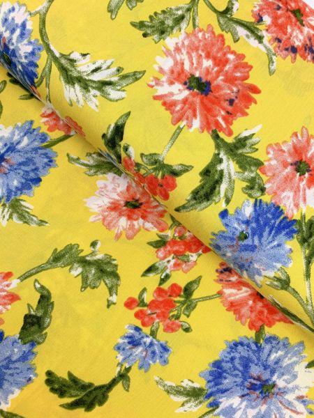 Viscose Blume Gelb