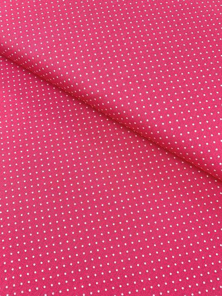 Baumwolle Design by Poppy Punkte Klein PINK