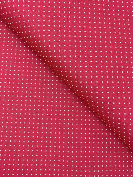 Baumwolle Design by Poppy Punkte Klein FUCHSIA