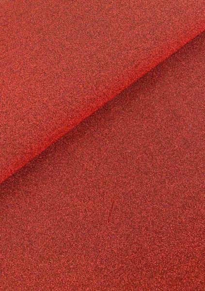 Glitzer-Jersey Rot