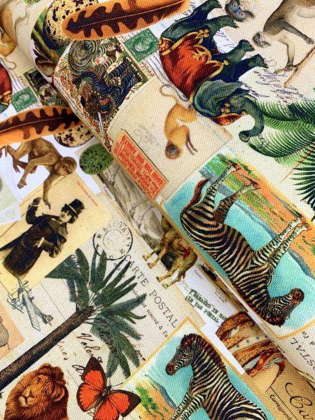 Deko DIGITALDRUCK Cards From Africa Natur
